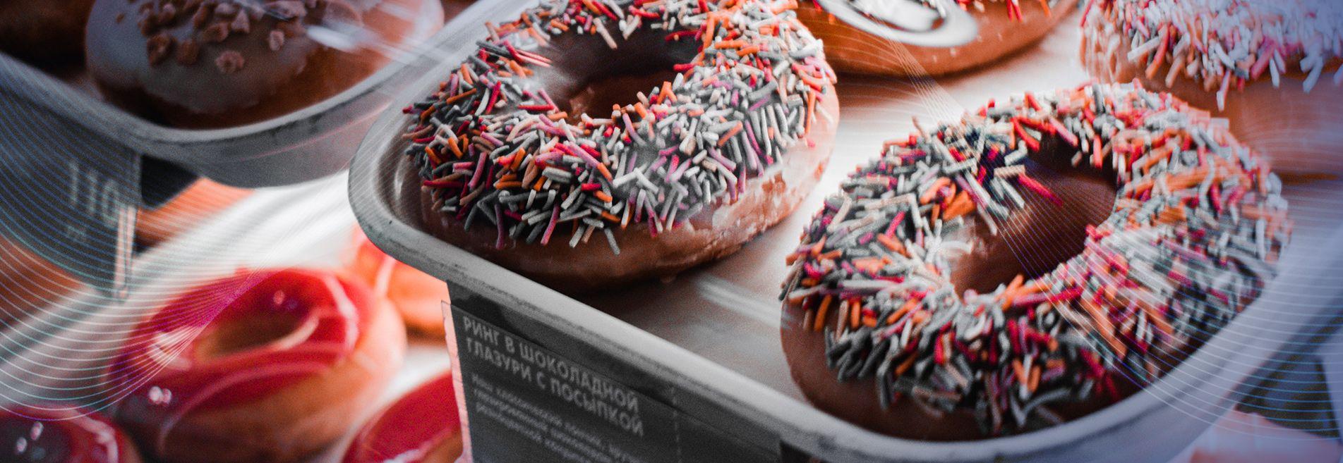 Witryna cukiernicza do ekspozycji deserów