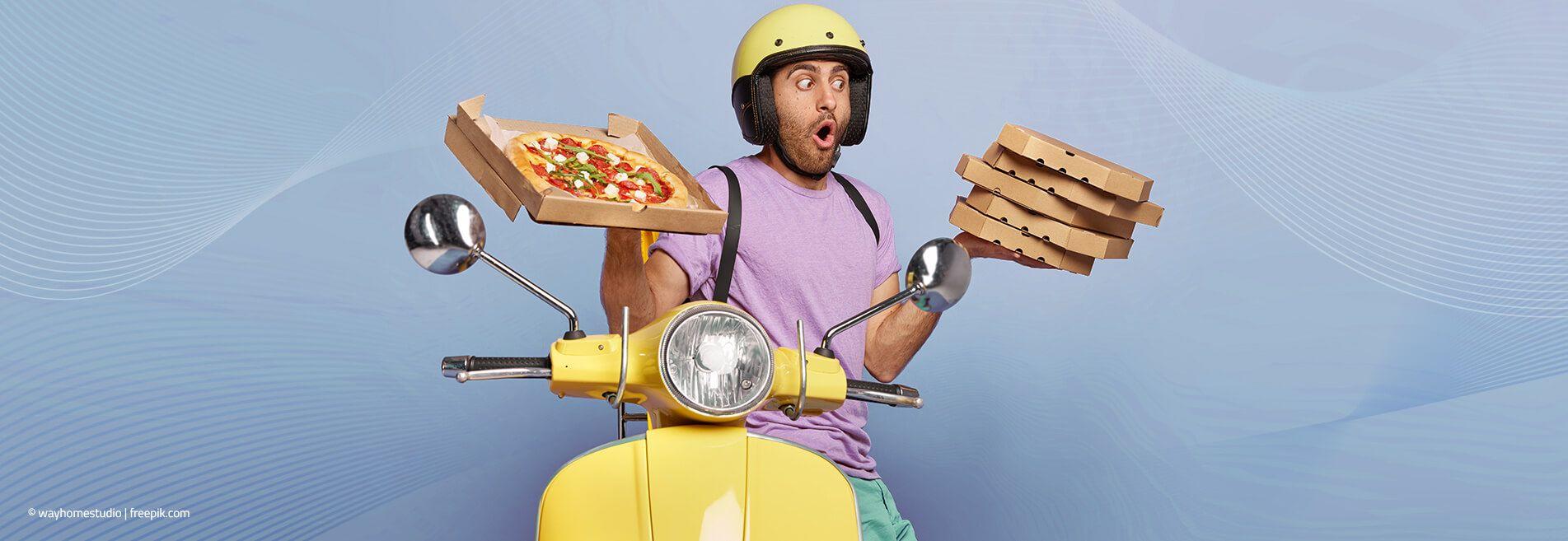 Jedzenie z dowozem to nie tylko pizza