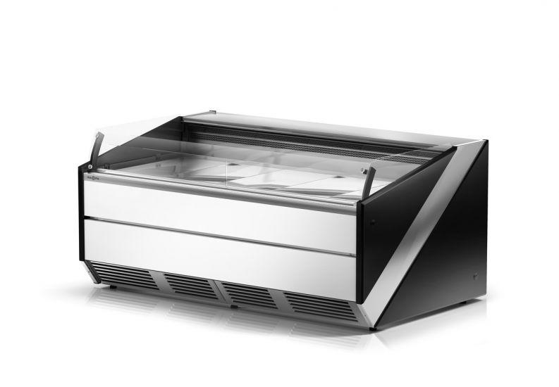 lada chłodnicza SiX z frontem w kolorze białym