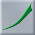 srebrnoszary z zielonym dekorem (E)